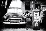 Gammel tankstation på Route 66, Arizona V Fotografisk tryk af Philippe Hugonnard