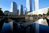 Vue Piscine Du Memorial World Trade Center Papier Photo par Philippe Hugonnard