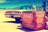 Ancienne Glaciere Coca Cola Sur La Route 66 II Photographic Print by Philippe Hugonnard