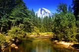 Half Dome - Yosemite National Park - Californie - United States Photographic Print by Philippe Hugonnard