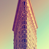 Top of Flatiron Building - Manhattan - New York City - United States Photographic Print by Philippe Hugonnard