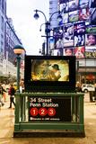 Subway Stations - Manhattan - New York City - United States Photographic Print by Philippe Hugonnard