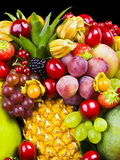 Surtido de frutas V Lámina fotográfica por Philippe Hugonnard