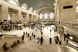 Philippe Hugonnard - Grand Central Station - 42nd Street - Manhattan - New York City - United States Fotografická reprodukce