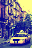 Street Scenes - Taxi Cabs - Manhattan - New York - United States Photographic Print by Philippe Hugonnard