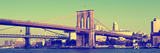 Brooklyn Bridge - Panoramic Lanscape - Manhattan - New York City - United States Photographic Print by Philippe Hugonnard