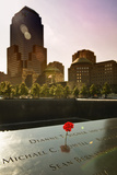 Sunset - Memorial - World Trade Center - New York - United States Photographic Print by Philippe Hugonnard