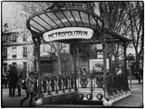 Abbesses Metro Station - Montmartre - Paris Photographic Print by Philippe Hugonnard