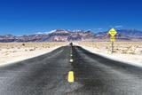 Route Dans Le Parc National De La Vallée De La Mort Photographie par Philippe Hugonnard