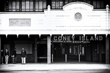 Subway Stations - Coney Island - New York - United States Photographic Print by Philippe Hugonnard
