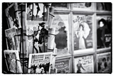 Old French Postcards - Gallery - Montmartre - Paris - France Photographic Print by Philippe Hugonnard