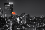 Landscape - The New Yorker - Manhattan by Night - New York City - United States Photographic Print by Philippe Hugonnard
