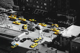 Taxi Cabs - Yellow Cabs - Petrol Station - Manhattan - New York City - United States Photographic Print by Philippe Hugonnard