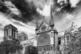 Details of Notre Dame - Paris - France Photographic Print by Philippe Hugonnard