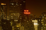 The New Yorker - Manhattan by Night - New York City - United States Photographic Print by Philippe Hugonnard