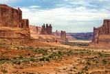 Scenic Drive Rocheuses Naturelles Dans Arches National Park En Utah Photographie par Philippe Hugonnard