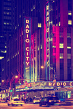 Radio City Music Hall - Manhattan - New York City - United States Photographic Print by Philippe Hugonnard