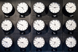Clocks City Photographic Print by Philippe Hugonnard