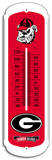 NCAA Georgia Bulldogs Outdoor Thermometer Tin Sign