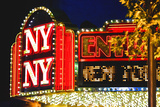 New York New York - Casino - Las Vegas - Nevada - United States Photographic Print by Philippe Hugonnard