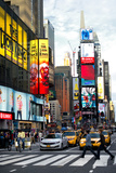 Pedestrian Crossing - Times Square - Manhattan - NYC - United States Photographic Print by Philippe Hugonnard