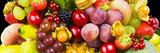 Close up of Fresh Fruits - Fruit assortments - Fruits and Vegetables Fotografisk trykk av Philippe Hugonnard