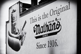 Advertising - Nathan's - Coney Island - United States Photographic Print by Philippe Hugonnard