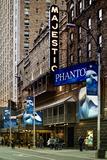 The Phantom Of The Opera Au Majestic À Times Square - NYC Photographic Print by Philippe Hugonnard