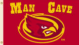NCAA Iowa State Cyclones Man Cave Flag With 4 Grommets Flag