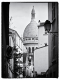 Sacre-Cœur Basilica - Montmartre - Paris - France Photographic Print by Philippe Hugonnard