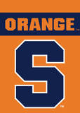 NCAA Syracuse Orange 2-Sided Garden Flag Flag