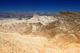 Manly Beacon - Zabriskie Point - Furnace Creek - Death Valley National Park - California - USA - No Photographic Print by Philippe Hugonnard
