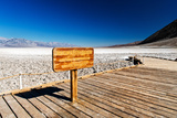 Badwater basin - Death Valley National Park - California - USA - North America Photographic Print by Philippe Hugonnard