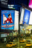 Advertising - Mary Poppins - Times square - Manhattan - New York City - United States Photographic Print by Philippe Hugonnard