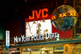 NYPD - Times square - New York City - United States Photographic Print by Philippe Hugonnard