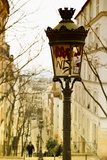 Parisian Street Lamps on a Staircase - Montmartre - Paris - France Photographic Print by Philippe Hugonnard