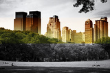 Central Park view - Manhattan - New York City - United States Photographic Print by Philippe Hugonnard