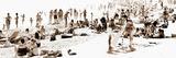 Panoramique Art Graphic D'Une Place Dans Le Sud De La France Photographie par Philippe Hugonnard