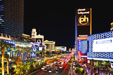 The Strip - Las Vegas - Nevada - United States Photographic Print by Philippe Hugonnard