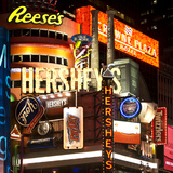 Advertising - Hershey's - Times Square - Manhattan - New York City - United States Lámina fotográfica por Philippe Hugonnard