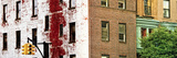 Panoramic - Buildings and Structures - Manhattan - New York - United States Photographic Print by Philippe Hugonnard
