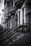 Ingressi di edifici storici ad Harlem Stampa fotografica di Philippe Hugonnard