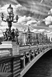 Alexander III Bridge - Paris - France Fotodruck von Philippe Hugonnard