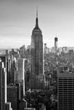 Philippe Hugonnard - Empire State Building - Sunset - Manhattan - New York City - United States Fotografická reprodukce