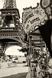 Eiffel Tower - Le Carrousel - Paris - France Photographic Print by Philippe Hugonnard