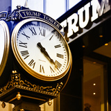 Clock - Trump Tower - Manhattan - New York - United States Photographic Print by Philippe Hugonnard