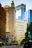 Buildings and Structures - Civic center - Manhattan - New York - United States Photographic Print by Philippe Hugonnard