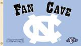 NCAA North Carolina Tar Heels Man Cave Flag With 4 Grommets Flag