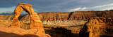 Delicate Arch - Panoramic Landscape - Arches National Park - Utah - United States Photographic Print by Philippe Hugonnard