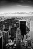 Blick auf den Central Park Fotodruck von Philippe Hugonnard
